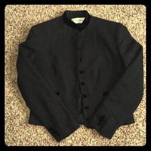 Evan Picone black / gray jacket / blazer